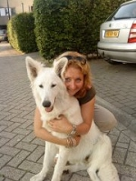 Simone en hond
